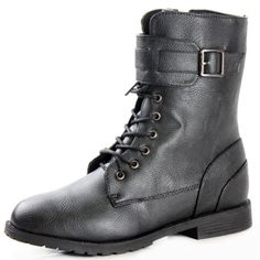 West Blvd Women's Lace Up Military Boot - http://shoes.goshopinterest.com/womens/boots/hiking/west-blvd-womens-lace-up-military-boot/