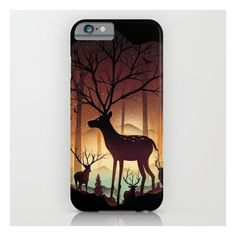 Into Deer Woods iPhone 6s Case ($35) ❤ liked on Polyvore featuring accessories, tech accessories and iphone & ipod cases