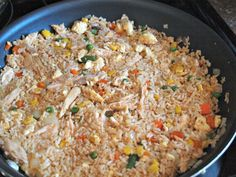 Whip up a batch of this kid-friendly chicken fried rice that's ready in less than 10 minutes.