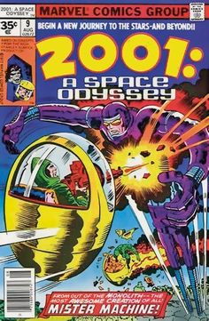Original Comic Art titled Jack Kirby & Mike Royer - A Space Odyssey p. 11 (Marvel, located in Zaal's Jack Kirby Comic Art Gallery Rare Comic Books, Comic Book Covers, Cosmic Comics, Marvel Comics, Space Group, Marvel Series, Jack Kirby, New Journey, American Comics