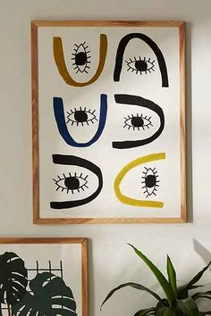 Seventy Tree All Eye Art Print - Urban Outfitters