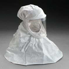 3M™ White Respirator Hood, Respiratory Protection BE-10-20 (Formerly 522-01-11R20), Regular 20/cs