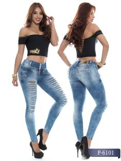 0da55205bc36 Pitbull Buttlifting Colombian Jeans PT6101