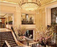 The lobby at the Penn Hotel, Hong Kong