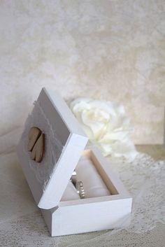 ReniJa / Krabička na prstienky Two Hearts