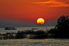 Wonderful evening @ Siem Reap, Cambodia  by old tea, via Flickr