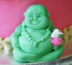 Mili's Sweets, fondant Booda for birthday cake