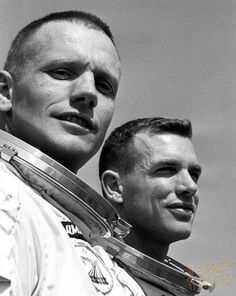 "ridethecyanide: ""March 54 years ago, Neil Armstrong and Dave Scott successfully docked their Gemini VIII spacecraft with the Agena target vehicle, the first ever docking of two spacecrafts."