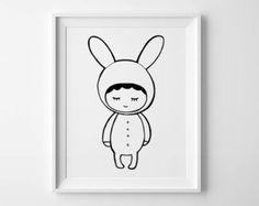 Baby room decor printable nursery art digital von MiniLearners