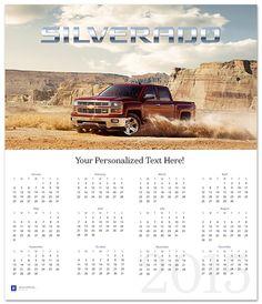 Silverado 2015 Wall Calendar-Chevy Mall