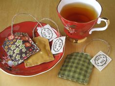 Tea and lavender... two of my biggest addictions! I have been addicted to making these little lavender-filled teabag sachets. I have made la...