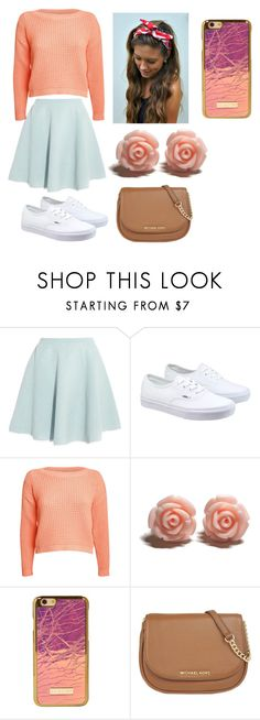 """Untitled #55"" by pk10059-1 ❤ liked on Polyvore featuring Sonia by Sonia Rykiel, Vans, Pilot, MICHAEL Michael Kors, women's clothing, women's fashion, women, female, woman and misses"