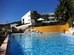 Another photo of Dolce Sitges' pool. Sitges is our hotel near Barcelona-- via Flickr