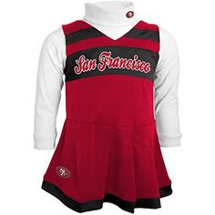 A cheerleader uniform design and logo appliques lend authentic appeal to  this girls  Nebraska Cornhuskers set. 25b1ad009