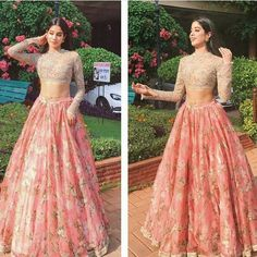 Weddings to attend? 50 celeb-inspired lehengas and saris for you Indian Lehenga, Lehenga Designs, Indian Wedding Outfits, Indian Outfits, Indian Attire, Indian Wear, Pakistani Dresses, Indian Dresses, Look Short
