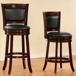 Edmund Padded Back Swivel Stool  We ordered these in countertop height
