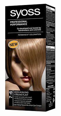 Syoss Color tartós hajfesték 7-6 középszőke