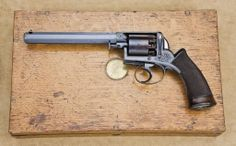 Dean, Adams & Dean double-action percussion revolver.