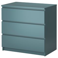 ... with pull-out rail, dark gray 3 Drawer Chest, Ikea and Drawers