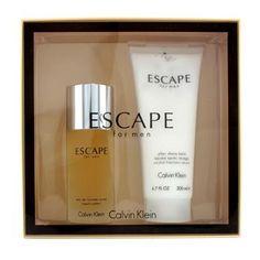 Calvin Klein Escape Coffret: Eau De Toilette Spray 100ml/3.4oz + After Shave Balm Alcohol Free 200ml/6.7oz 2pcs - http://aromata24.gr/calvin-klein-escape-coffret-eau-de-toilette-spray-100ml3-4oz-after-shave-balm-alcohol-free-200ml6-7oz-2pcs/