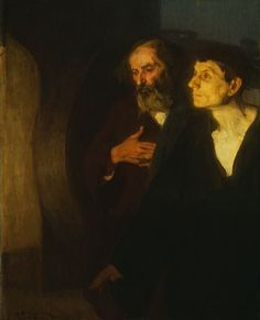 Henry Ossawa Tanner  American, 1859-1937  The Two Disciples at the Tomb, c. 190