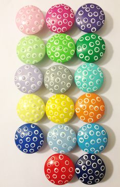 Hand Painted Drawer Knobs in a Variety of by TheLittleNursery, $4.50