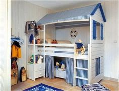Bunk Beds On Pinterest Bed Loft And Toddler