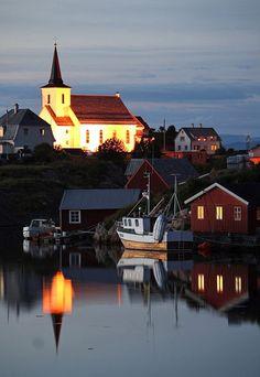 The Coastal Church, Fedje, Norway