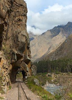 Tunnel, Machu Picchu, Peru