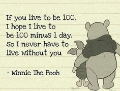 Winnie the Pooh quote:)