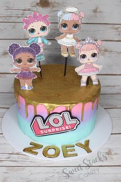 Birthday cake Doll ✅ Best 79 ideas of Birthday cake Doll 2019 with our website HD Recipes. Funny Birthday Cakes, 6th Birthday Parties, 7th Birthday, Surprise Birthday, Birthday Ideas, Lol Doll Cake, Realistic Cakes, Surprise Cake, Doll Party