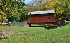 Ebenezer Covered Bridge - Mingo Creek Park - Washington County, Pennsylvania