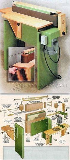 Edge Sander Plans - Sanding Tips, Jigs and Techniques | WoodArchivist.com