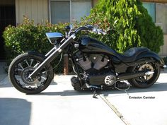 Victory Motorcycle Forum Air horn mounted in place of emissions canister