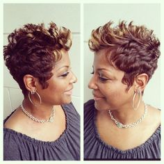 WEBSTA @ najahliketheriver - Fall is in the HAIR!  #liketheriversalon #morning ☕️☕️☕️