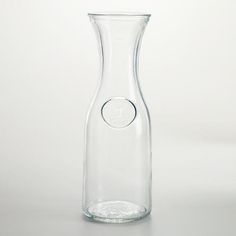 One of my favorite discoveries at WorldMarket.com: Glass Carafe