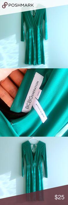 BCBG Jumpsuit #BCBG #jumpsuit #summer #green #golden #streetstyle #cocktail #event BCBGeneration Other