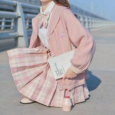 Harajuku Fashion, Kawaii Fashion, Cute Fashion, Estilo Harajuku, School Uniform Outfits, Mode Kawaii, Really Cute Outfits, Vetement Fashion, Mein Style