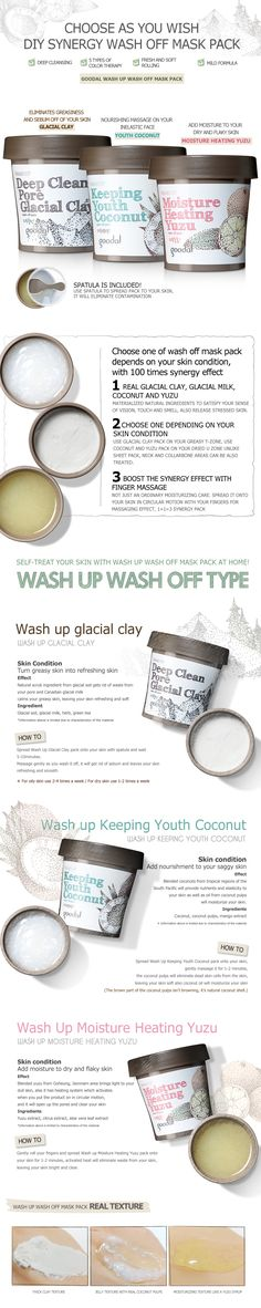 GOODAL Wash Up Wash Off Mask - ::CLUB CLIO:: Shop Korean Beauty Products