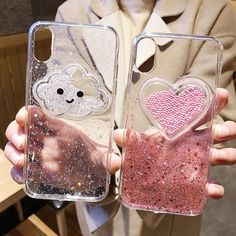 Compatible iPhone Model: For iPhone 6 7 8 Plus X XS XR XS max. However we will try our best to replay in Design: Transparent,Cute,Patterned,Glitter.