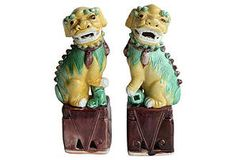Foo Dogs, remind me of my grandmother's house