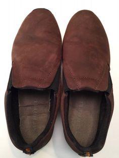 Merrell-Mens-Jungle-Moc-Nubuck-Brown-Shoes-Size-14-Performance-Footwear