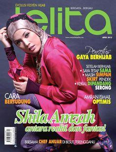 Shila Amzah. Hijab Style. Amara. Zawara. Mimpi Kita. ShoesShoesShoes. April Issue. Asian Waves Competitions. Winners. Shanghai. Malaysians. Proud.