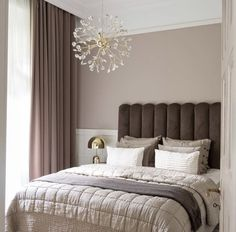 Simple Bedroom Design, Home Room Design, Dream Home Design, Home Decor Furniture, Home Decor Bedroom, Grey Bedroom Colors, Cozy Living Rooms, Minimalist Bedroom, House Rooms