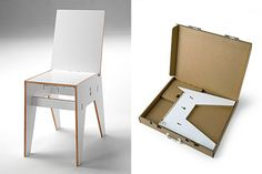 Skandi is easy to assemble without any tools and comes flat-packed in a recycled box, which is convenient for storage when the chair is not in use. All parts slot together with the help of a metal connecting rod. Made of birch plywood with melamine, it's created by Finnish designer Topi Mäkinen for Italcomma.  $200.00 – $233.00 http://moddea.com/2013/01/30/skandi-chair/