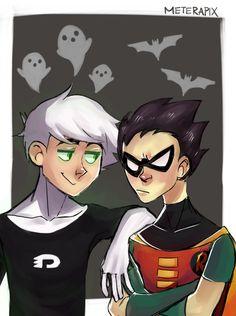 Teen Titans x Danny Phantom AU