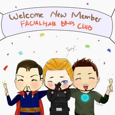 HairFacial Bros Club~ if you see the bearded Captain America so you will understand  . . This used to be upload in my another acc but, yeah . . #fanart #marveluniverse #marvelcinematicuniverse #marvelfanart #drstrange #drstephenstrange #captainamerica #steverogers #stony #ironman #tonystark #facialhairbros #ilustrationdigital #digitalart #digitalillustration #digitalfanart #drawing