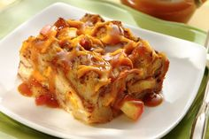 Looking to bake something savory-sweet for your special someone? Try this Apple & Cheddar Bread Pudding recipe, made scrumptious with Sargento Traditional Cut Shredded Sharp Cheddar Cheese.
