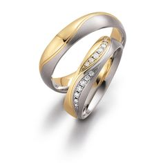 65 Best Matching Two Tone Wedding Rings Images Brisbane Perth