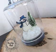 Blank Page Muse: Snowman Snow Globe Ornament Globe Ornament, Ornaments, Snowman Snow Globe, Make Your Own Card, Blank Page, Instagram Blog, Christmas Inspiration, Snow Globes, Creative
